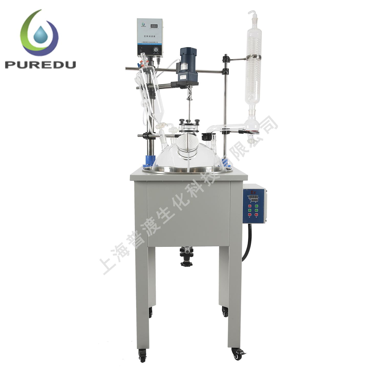 PDF-50A单层玻璃反应釜