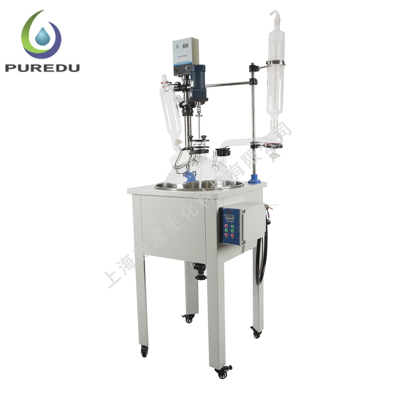 PDF-20A单层玻璃反应釜
