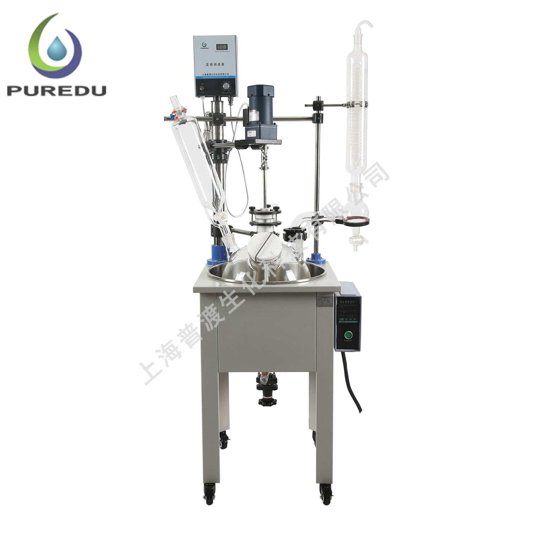 PDF-30A单层玻璃反应釜