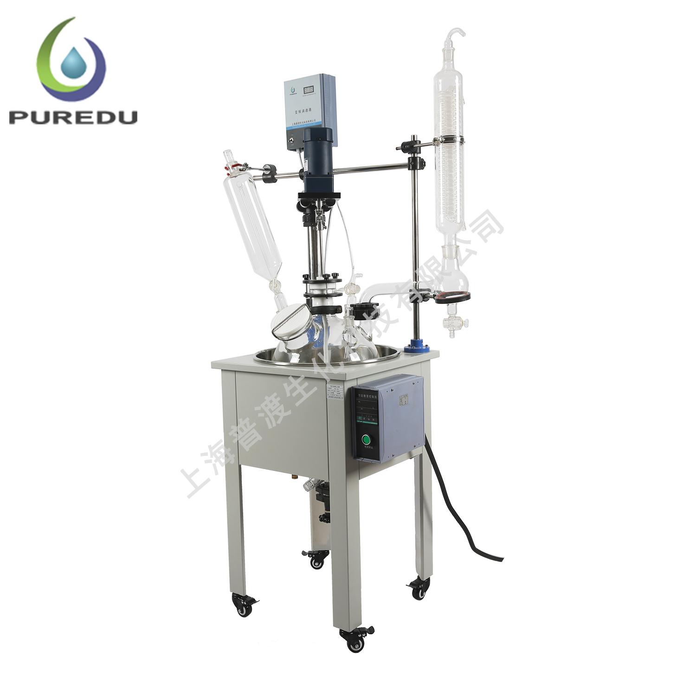 PDF-10A单层玻璃反应釜